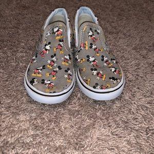 Mickey Mouse vans slip on's toddler